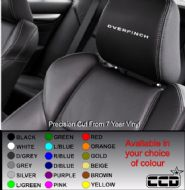 Overfinch (Range Rover) Logo Car seat Decals